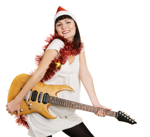 10 Christmas Gifts for Guitar Players Under 30 Dollars #1: christmas guitar ts