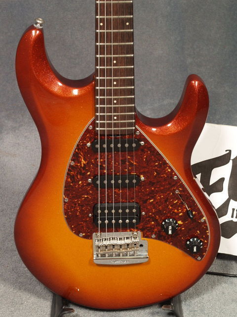 Music Man guitars was purchased by Ernie Ball in the 1980′s