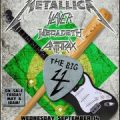 The Big 4 - Metallica, Megadeth, Anthrax, Slayer