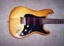 Mighty-Mite Strat with Seymour Duncan Pickups and 5 piece neck