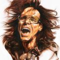 Steve Vai Drawing