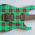 Plaid Guitar