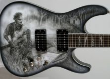 Texas Chainsaw Massacre Guitar