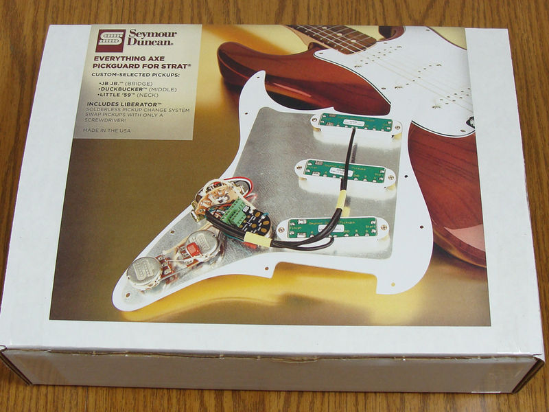 seymour duncan liberator and pre wired pick guard guitar muse com seymour duncan loaded pick guard