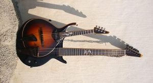 Mervyn Davis Double Mandolin Guitar