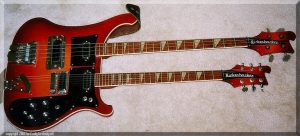 Rickenbacker 4080 Bass Guitar Double