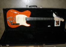 G&amp;L Custom Orange Guitar