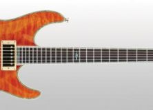 Schecter C1 Elite Orange Guitar