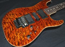 Tom Anderson Drop Top Orange Guitar