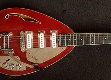 Vox Red Guitar