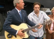 George Bush With Guitar