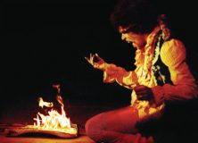Hendrix Burns His Guitars