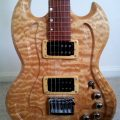 Eric Joseph Guitar Body