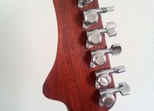 Eric Joseph Guitar Headstock Back