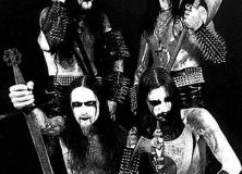 Dark Funeral carrying weapons