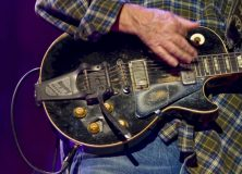 Neil Young's Gibson Les Paul Guitar