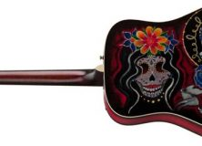 Fender Dia de los muertos Acoustic Guitar