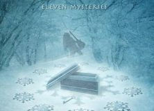 The majestic cover art of Liverani's Eleven Mysteries