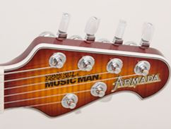 Music Man Armada - Headstock