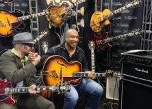 Bernie Williams NAMM 2013