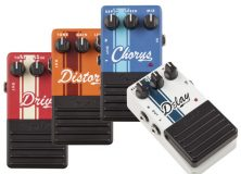 Fender Competition Series Effects Pedals