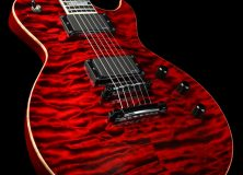 ESP Eclipse Custom Shop Quilt Black Cherry