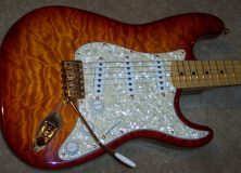 Fender Custom Shop Stratocaster Orange