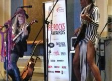 Orianthi and Holly Knight