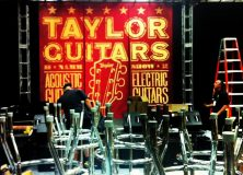 Taylor Guitars Setting Up NAMM 2013