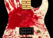 Charvel Custom Jackson Legacy Blood Guitar