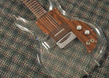 Dan Armstrong Lucite Clear Guitar