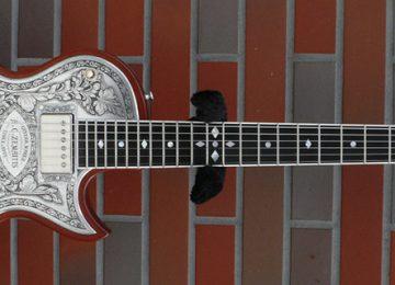 Zemaitis Skull Guitar