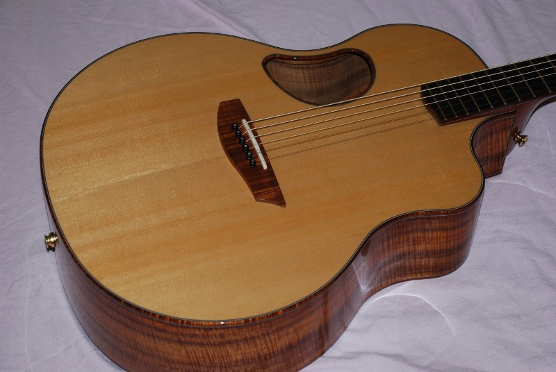 McPherson Acoustic 5.0XP XP Cedar Guitar