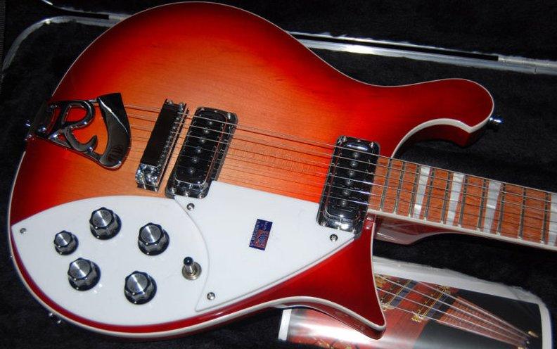 Rickenbacker 620 Fireglow Guitar