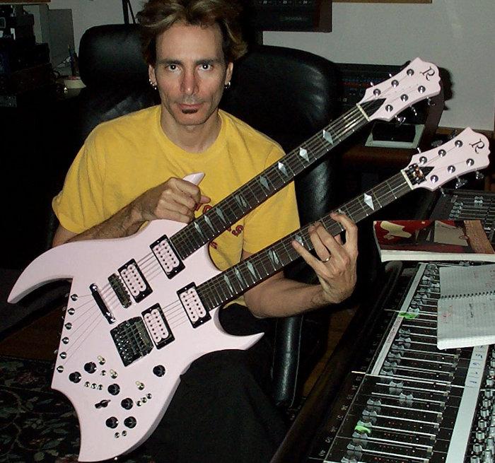 Steve Vai B.C. Rich Double Neck Guitar
