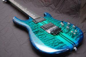 Carvin Custom Shop Dragon Burst Guitar