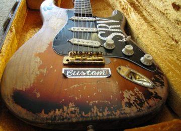 Fender SRV Number One replica Stratocaster