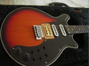 Brain May Burns Guitar