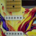 Custom Painted Fender Strat