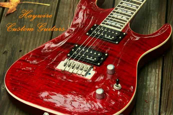 Haywire Red Guitar