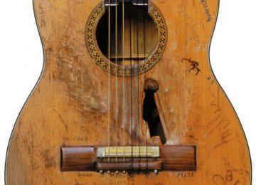 Willie Nelson's Worn Trigger Guitar