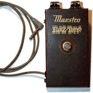 Gibson Maestro Fuzz Tone FZ-1 Guitar Distortion Pedal