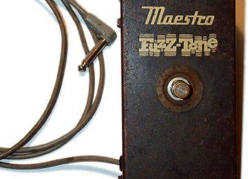 Gibson Maestro Fuzz Tone FZ-1 Guitar Distortion Pedal