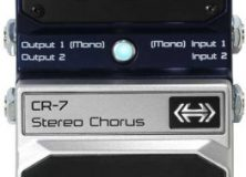 Digitech Hardwire CR-7 Guitar Chorus Pedal Review