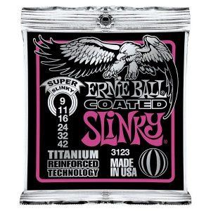 Ernie Ball 3123 Coated Electric Guitar Strings