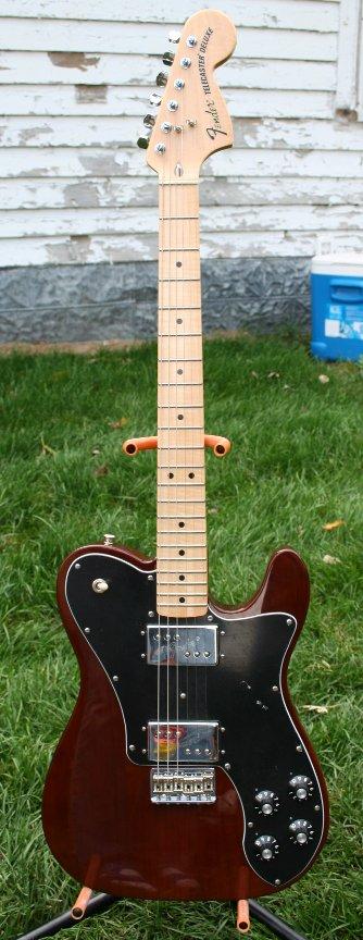 72 Fender Telecaster Deluxe Reissue