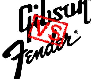 Gibson VS Fender Blues Guitar