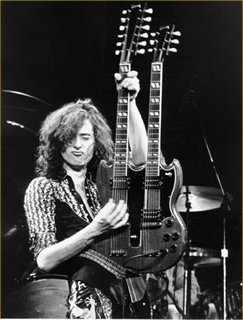 Jimmy Page Double Neck Guitar