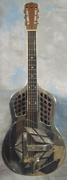 National Vintage Steel Tricone Guitar