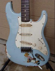 62 Blue Stratocaster - Pre CBS